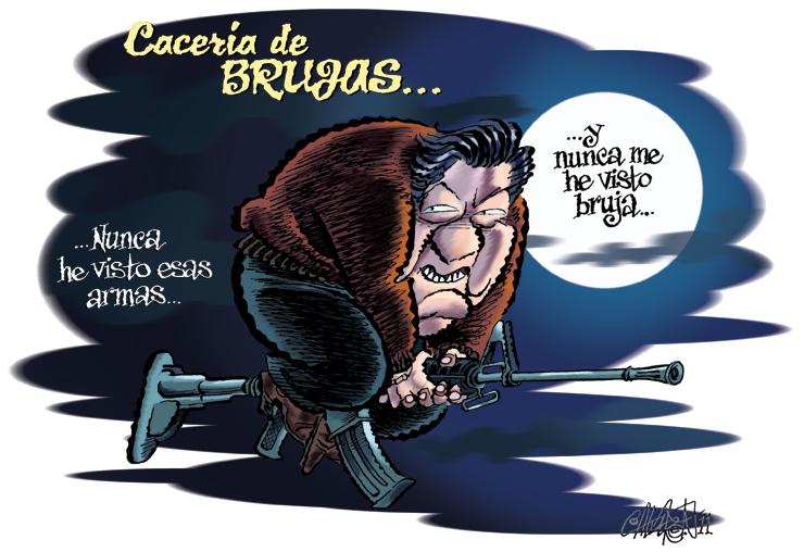 Cacería de Brujas - Calderón