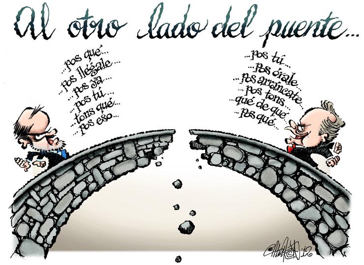 Al otro lado del puente - Calderón
