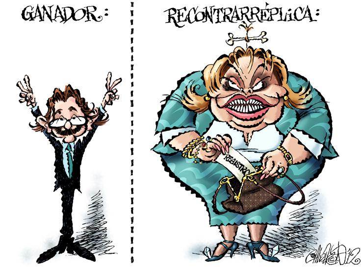 Ganador y Recontrarréplica - Calderón
