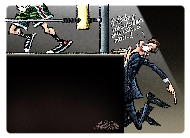 Debate de nivel - Calderón