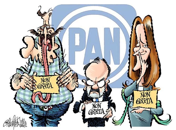 PANrtido en tercios - Calderón