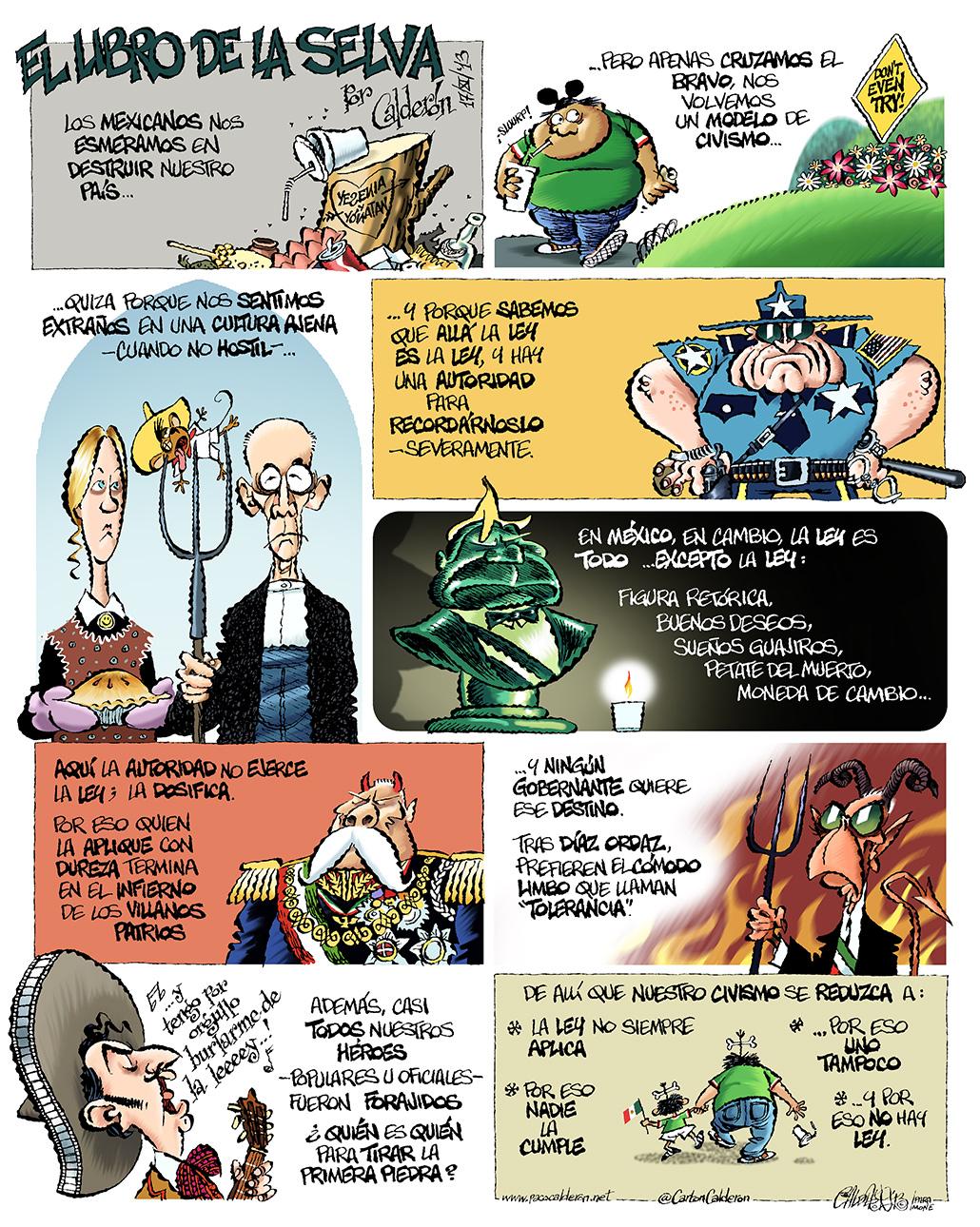 La ley de la selva - Calderón