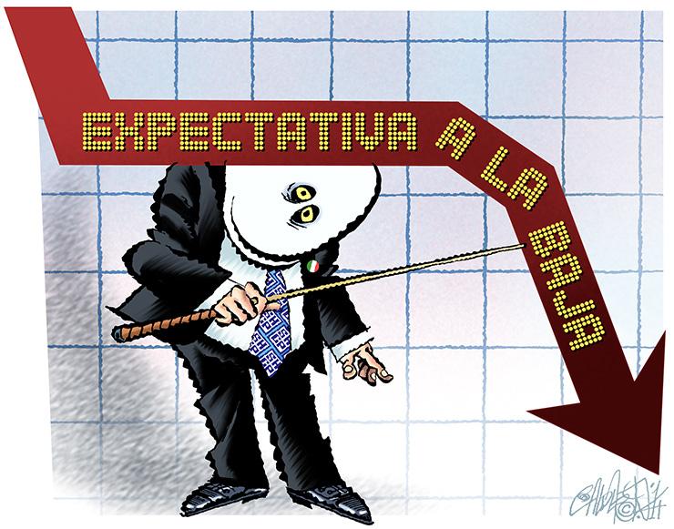 Expectativa a la baja - Calderón