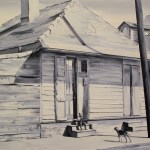 Neighborhood (Oil on canvas. 120 x 160 cm. 2011)