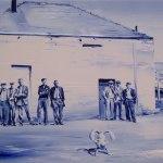 The-hunter--(Oil-on-canvas.-40-x-60-cms.-2011)