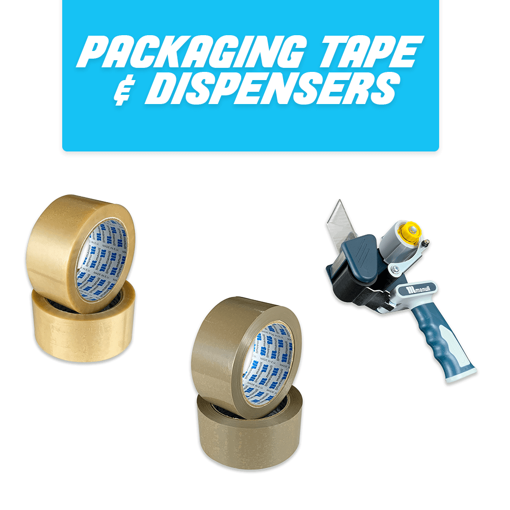 Packing Tape & Dispensers