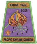 Boulder Creek Scout Reservation Nature Trail patch icon
