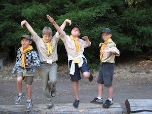 Boulder Creek Scout Reservation pals