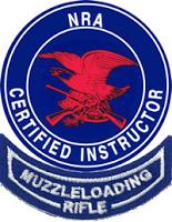 NRA Muzzle-loading Rifle Instructor logo