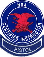 NRA Pistol Instructor logo