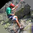 Camp Oljato rock climbing course