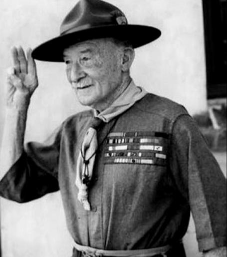 Robert Baden-Powell founder of Scouting