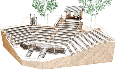 Keller Amphitheater rendering