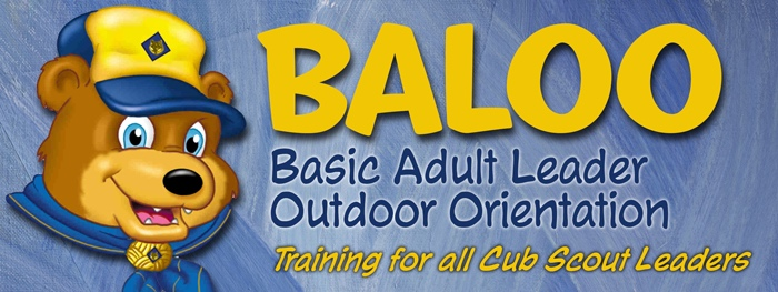 BALOO (Basic Adult Leader Outdoor Orientation) header