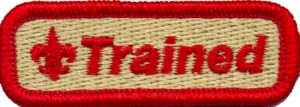 """Red """"Trained"""" patch"""