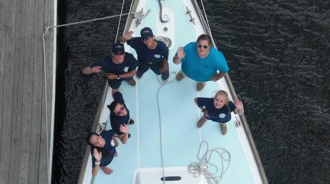 Sea Scout seal crew