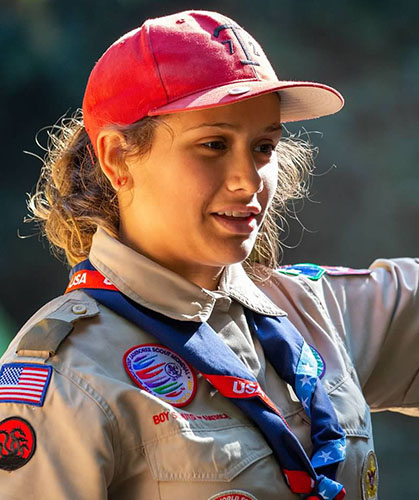 Eagle Scout Kylie S.