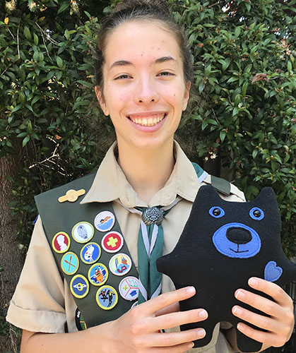 Eagle Scout Noelle M.