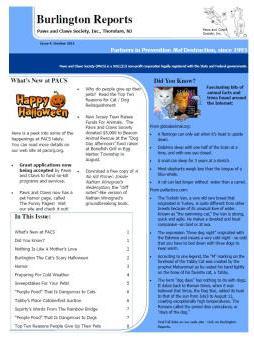 Burlington Reports - October 2011