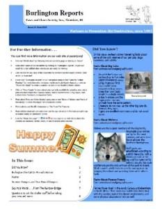 Burlington Reports, June 2013