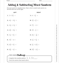 32 Adding And Subtracting Mixed Numbers Worksheet - Free Worksheet  Spreadsheet [ 3263 x 2513 Pixel ]