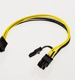 pci express power adapter cable 6p male to 6p female 2p female [ 1920 x 1280 Pixel ]