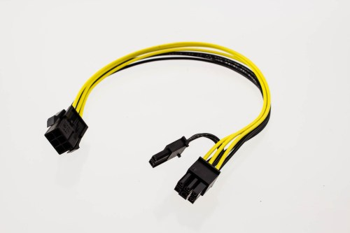 small resolution of pci express power adapter cable 6p male to 6p female 2p female