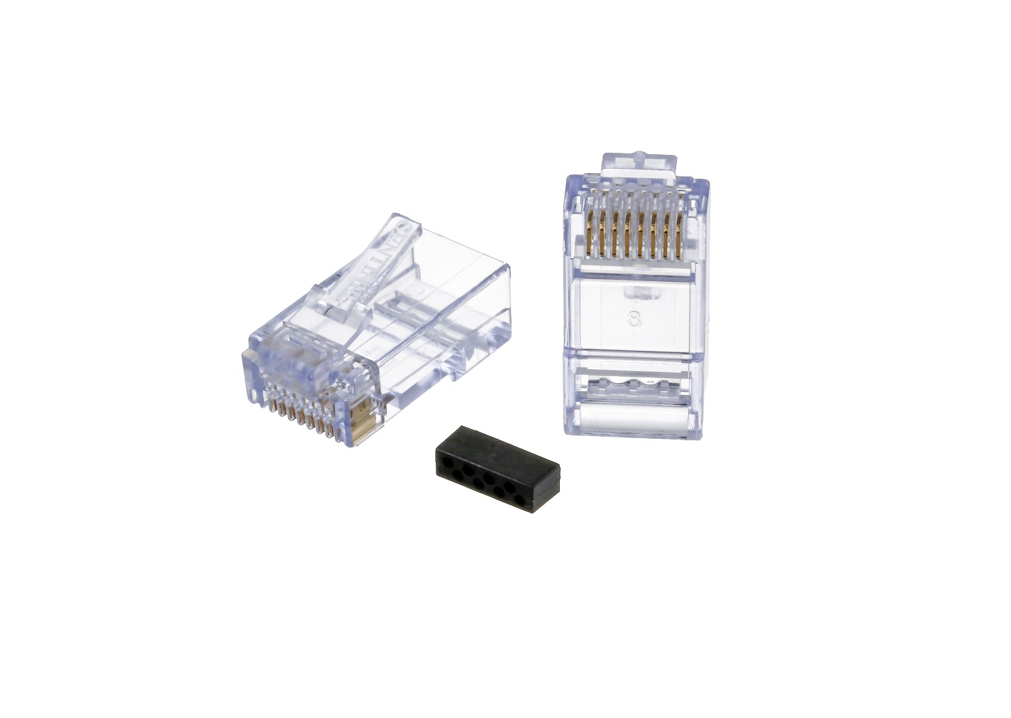 Sentinel Cat6 Utp Rj45 Plug For 24awg Cable