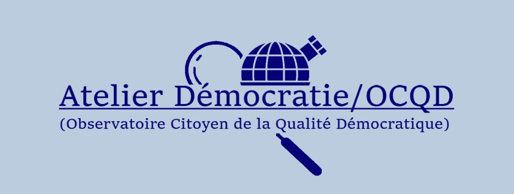 logo retravaillé Atelier démocratie OCQD lignes normales