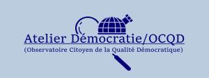 Le poids de la défiance, le prix de la confiance – Rapport 2019 de l'Atelier Démocratie/OCQD