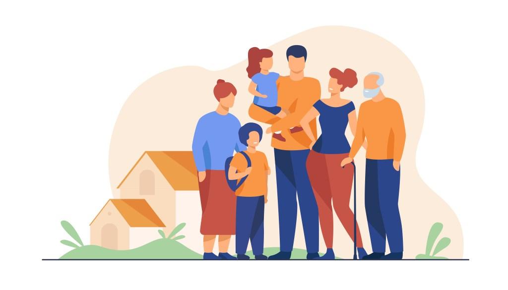 Big family meeting