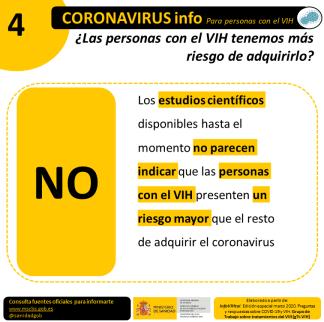 VIH_COVID19 Riego personas VIH