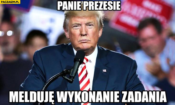 Znalezione obrazy dla zapytania Memy Trumpa
