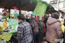 Jarmark wielkanocny na paczkowskim Rynku. Foto: OKiR