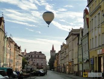 Balon nad paczkowskim Rynkiem. Aeropiknik 2015