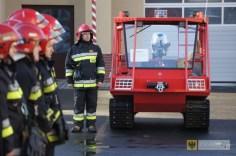 Uroczystość przekazania nowego sprzętu jednostkom ratowniczo-gaśniczym z terenu powiatu nyskiego. Foto: KP PSP Nysa