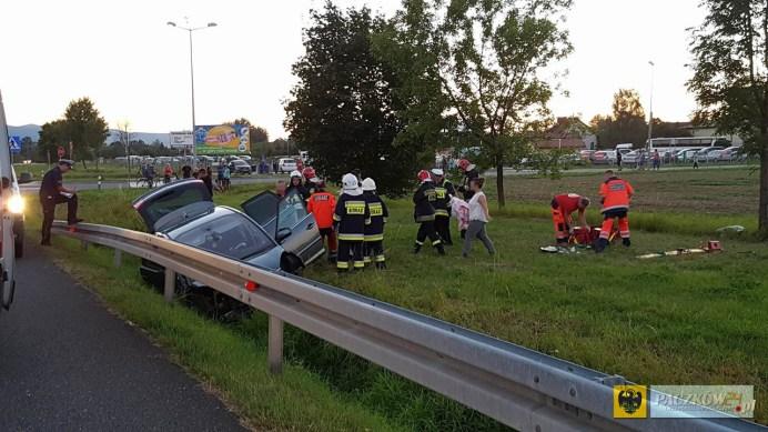 Kolejny wypadek na feralnym skrzyżowaniu