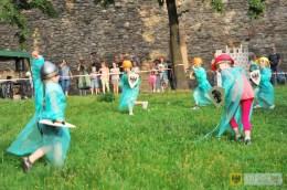 Paczkowska bitwa na jaja już na stałe wpisała się w kalendarz lokalnych imprez. Foto: Lesław Cudyk