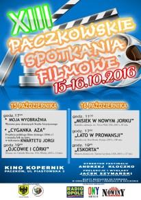 PACZKOWSKI FESTIWAL FILMOWY 2016