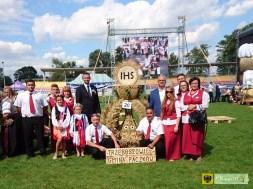 Sołectwo Trzeboszowice na dożynkach wojewódzkich