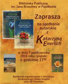 spotkanie_autorskie_katarzyna_enerlich_plakat