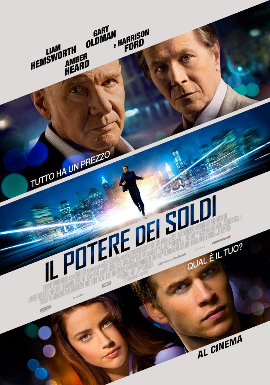 La locandina italiana di Il potere dei soldi