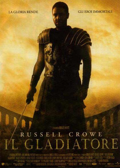 Locandina italiana Il gladiatore