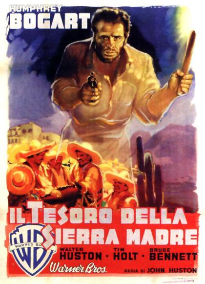Locandina italiana Il tesoro della Sierra Madre