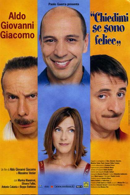 Chiedimi Se Sono Felice Film Completo : chiedimi, felice, completo, Chiedimi, Felice, (2000), MYmovies.it