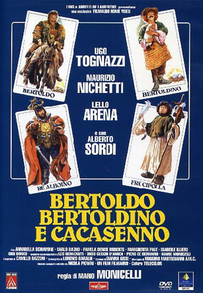 Poster Bertoldo Bertoldino e Cacasenno