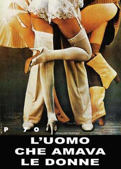 Locandina italiana L'uomo che amava le donne