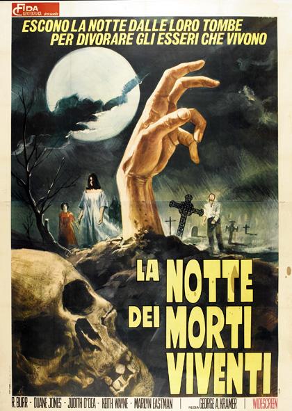 Poster La notte dei morti viventi [1]
