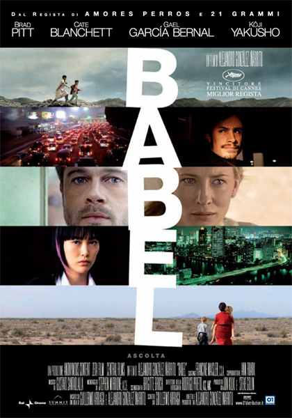 Locandina italiana Babel
