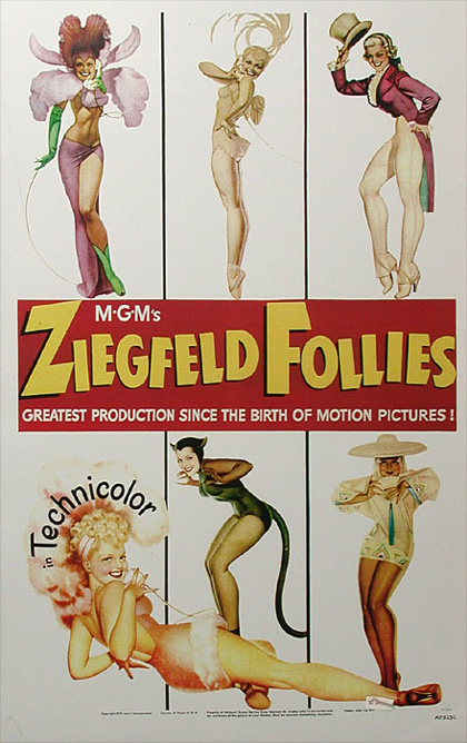 Locandina Ziegfeld Follies